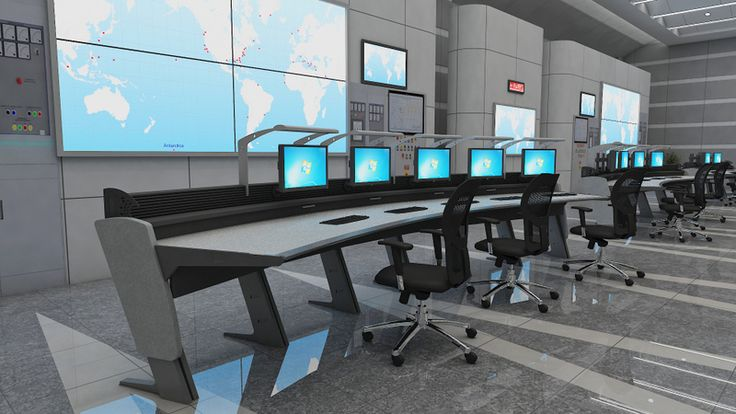 Designed And Engineered More Than 150 Control Room Designs