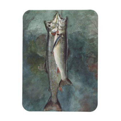 #fishing - #Two Trout Magnet