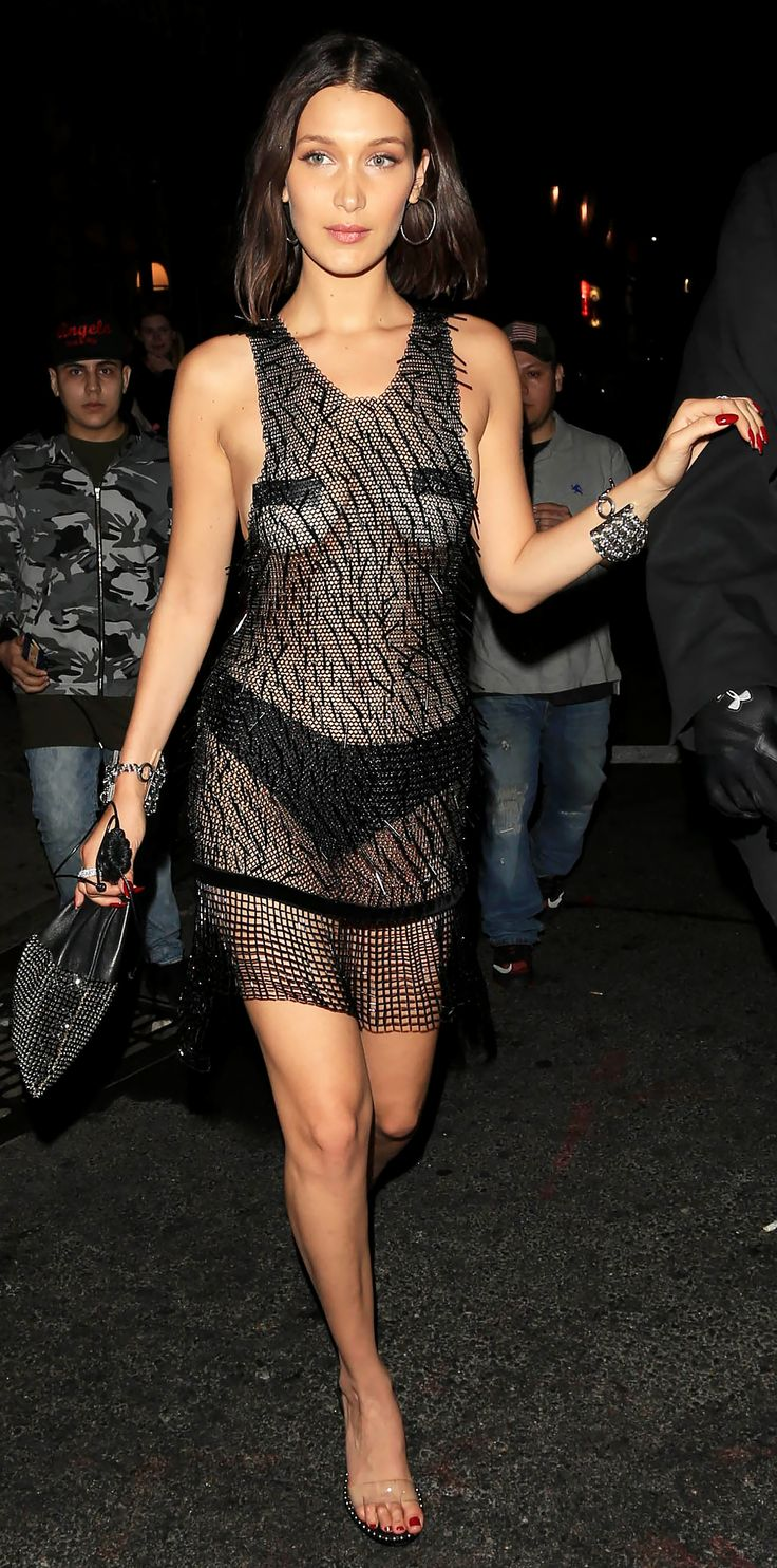 See Celebrities Wearing Her: Celebrities Clearly Love Their See-Through Shoes