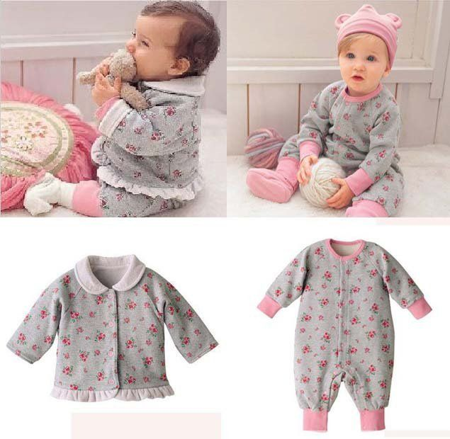 images of babies' fashions   Baby Clothing Sets / baby clothes suit - Baby coat+baby romper+baby ...