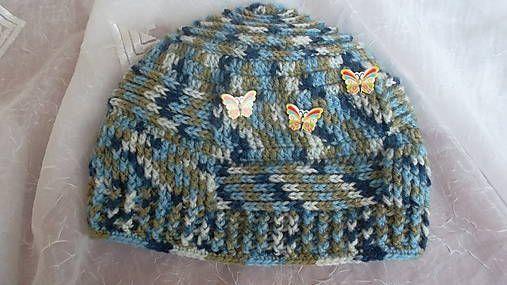 MelinetDecorCrochet / Chlapčenská zimná čiapka