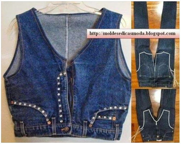 Blue jean upcycle