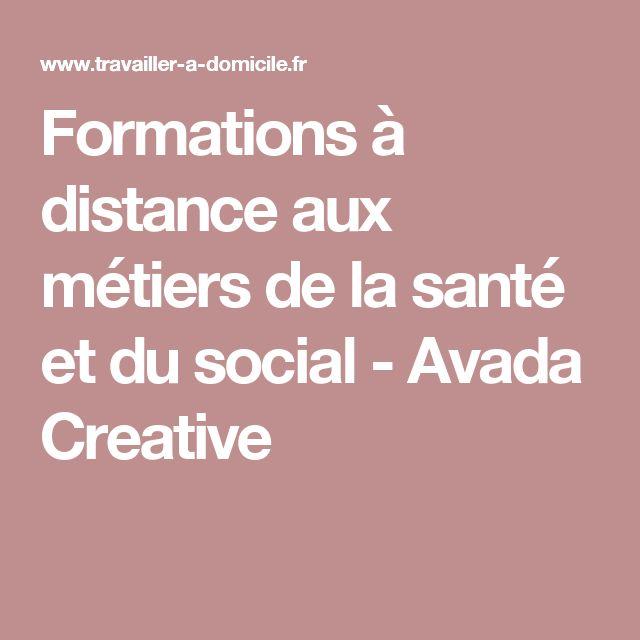 Formations à distance aux métiers de la santé et du social - Avada Creative