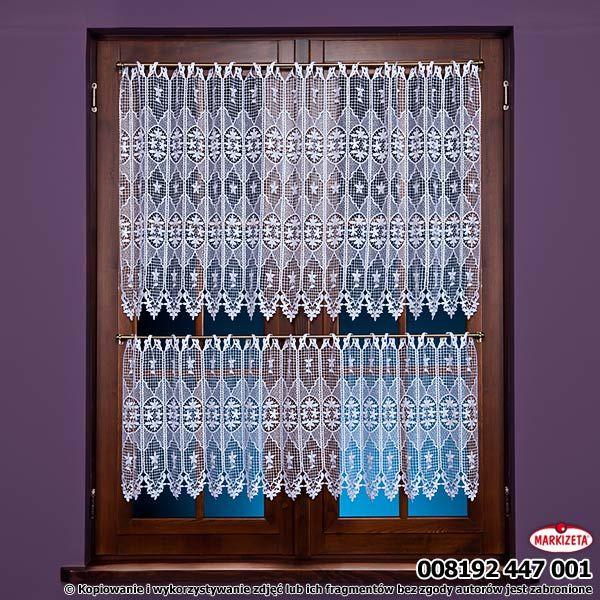 #Zazdrostka_metrażowa 008192 / wysokość 45 cm / kolor kremowy Ładna, kremowa zazdrostka gipiurowa. Stanowi bardzo efektowną dekorację kuchennego okna. Przepuszcza światło i powietrze, i co ważne dla wszystkich Pań domu, nie wymaga prasowania! wysokość: 45 cm  kolor: kremowy materiał: koronka gipiurowa nie wymaga prasowania kasandra.com.pl