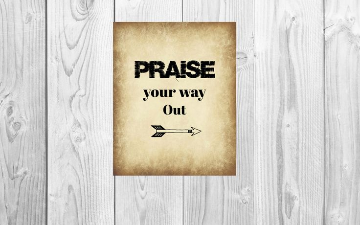 Inspire yourself and others with what you choose to focus on! Keep positive and faith filled messages around you at all times to keep your spirit up! What better way to get out of a funk then to put on some praise and worship music?!?!? Praise your way out!