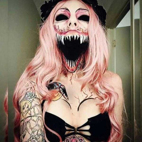 Best 25+ Horror makeup ideas on Pinterest | Creepy makeup, Crazy ...