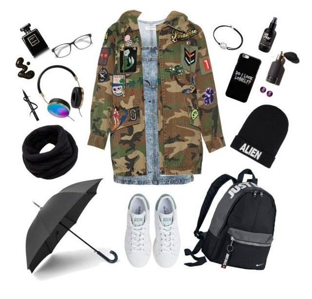"""""""Untitled #9"""" by afsyara-fifa on Polyvore featuring Topshop, Marc Jacobs, adidas, NIKE, Helmut Lang, Nicopanda, Frontgate, Alex and Ani and Chanel"""