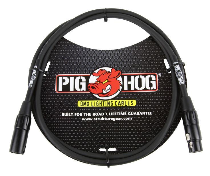 Pig Hog 5-foot DMX Lighting Cable