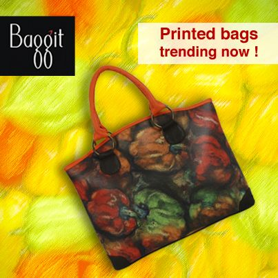Shop your Favorite Printed Bag at www.baggit.com