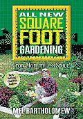 All New Square Foot Gardening by Mel Bartholomew:  This is the best gardening book ever! I first read Mel Bartholomew's Square Foot Gardening years ago while planning my first vegetable garden, and I loved the idea of having a bumper crop of vegetables despite living in an apartment. The updated All New...Gardens Years, Square Foot Gardening, Book Worth, Bartholomew Squares, Squares Foot Gardens, Gardens Book, Vegetables Gardens, Vegetables Despite, Amazing Resources