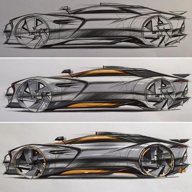 Car Sketch Demonstration www.skeren.co.kr #skeren #cardesign #carsketch…