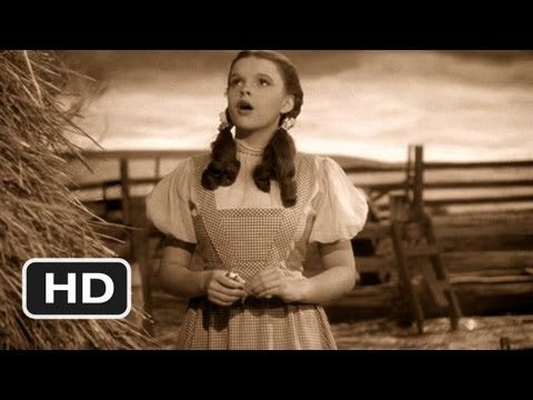 Somewhere Over the Rainbow - The Wizard of Oz Movie CLIP (1939) HD