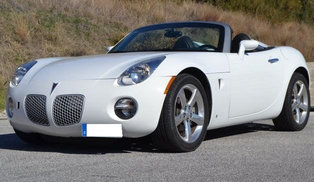 2006 Pontiac Solstice 2.4 cabriolet 2 seater convertible sports