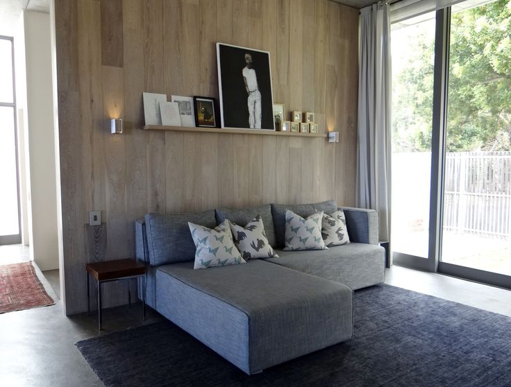 Timber clad Family room to private residence in Cape Town.