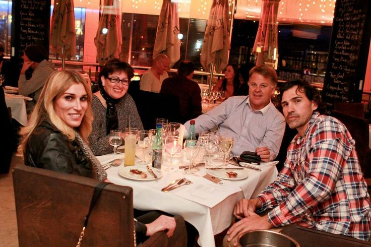 Victor & Monya Matfield attended our charity wine tasting at o'Galito Restaurant. Hanna charity and empowerment foundation.