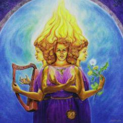 ImbolgCeltic Goddesses, Blog Hop, Tarot Cards, 2014 Tarot, Tarot Blog, Goddesses Figures, Brigid, Three Cards Tarot, Goddesses Image