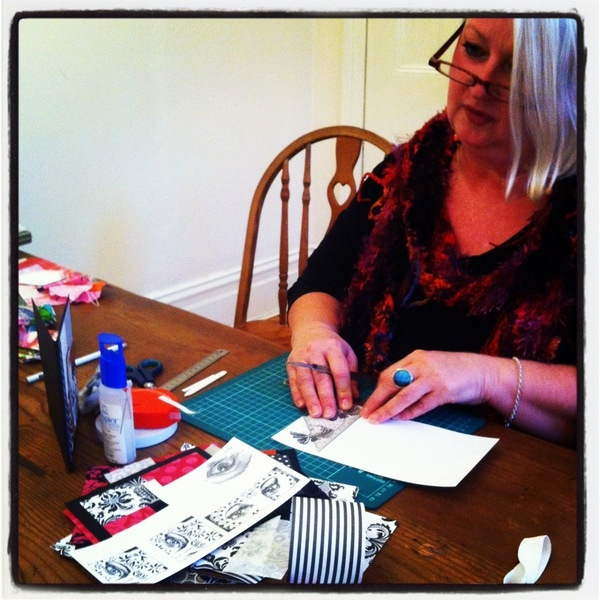 One of our card making queens!