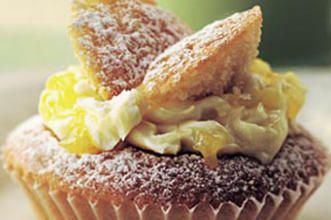 Lemon butterfly fairy cakes from Good to Know with recipe link.