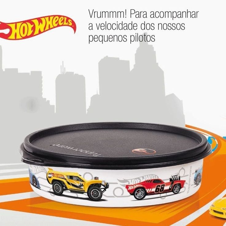 Tupperware Pratinho Hot Wheels 500ml - Quer Comprar Tupperware Online? Loja Tupperware