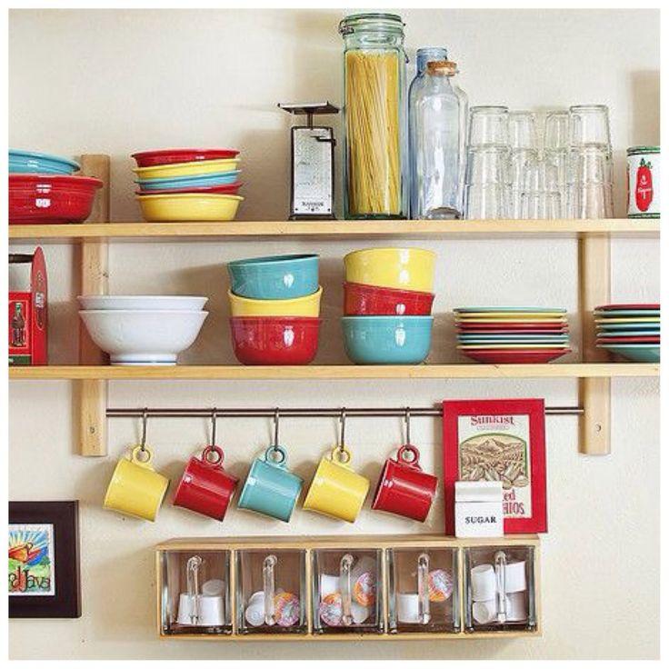 3 estilos para decorar estanter as de cocina 3 estilos - Estanterias de cocina ...