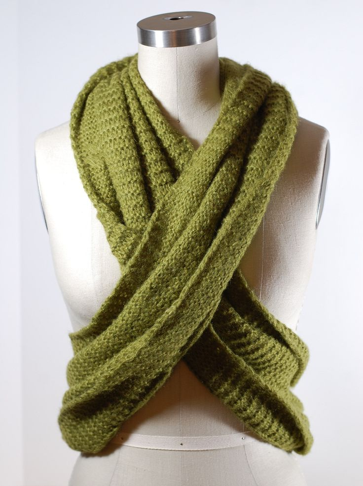 How to Wear an Infinity Scarf Like a Vest | Scarves.net