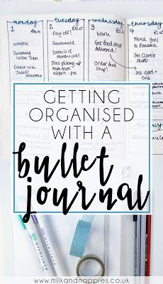 Lots of tips for setting up a bullet journal, monthly spreads, weekly spreads, and general bujo inspiration!