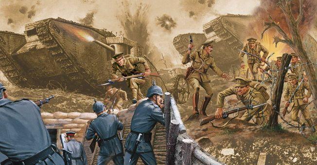 Batalhas da Primeira Guerra Mundial - Frente Ocidental - 1914 - 1915