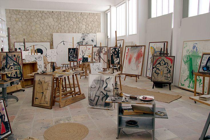 Joan Mirós atelier i Palma de Mallorca