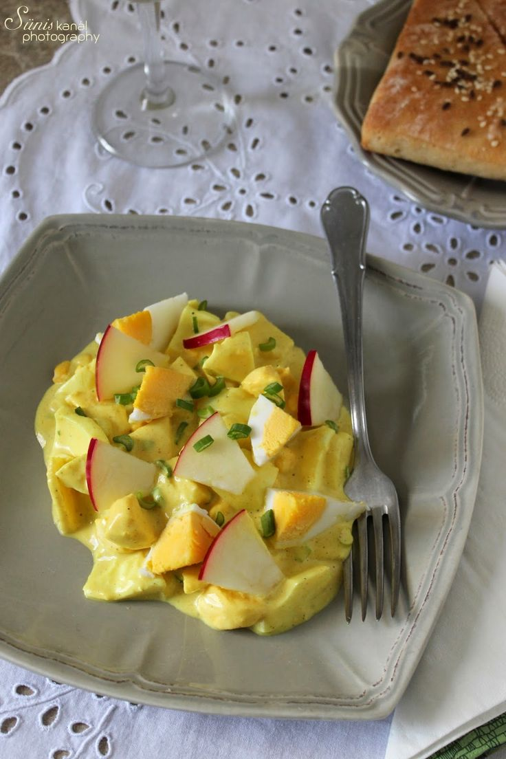 "Sünis kanál: Almás tojássaláta ""currymustárban"""