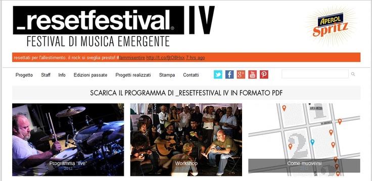Reset Festival - Torino