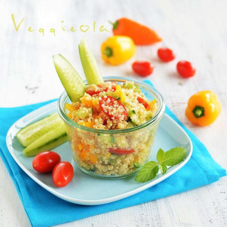 veggieola: Sałatka z quinoa