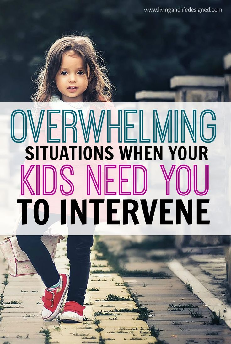 What a awesome article about knowing when its time for a parent to step in and signs your child is overwhelmed. Signs to look for when the situations is overwhelming and parents need to intervene.