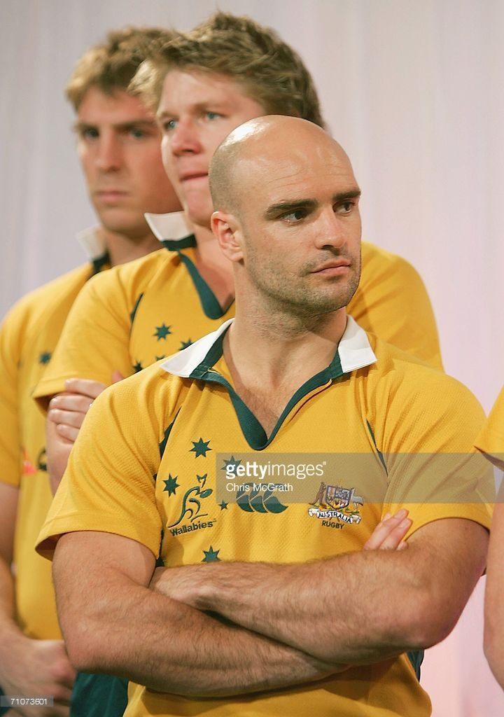 Sam Cordingley watches on during the 2006 Bundaberg Rum Rugby Series launch and Wallabies squad announcment held at Customs House May 29, 2006 in Sydney, Australia.