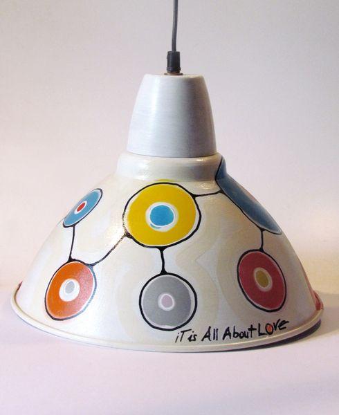 IT IS ALL ABOUT LOVE Lamp di LoveCreating su DaWanda.com