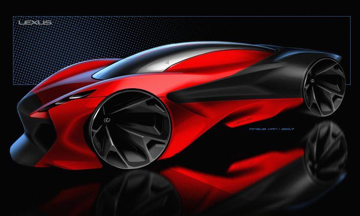 Les 262 meilleures images du tableau lexus sur pinterest concept voiture croquis de design de - Croquis voiture ...