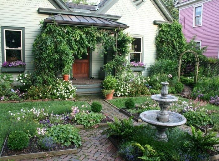 Cottage Garden Ideas When Close To Nature Is What Is Required My Desired Home Backyard Garden Layout Cottage Garden Design Cottage Garden