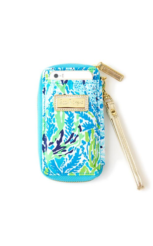 Lilly Pulitzer Carded ID Wristlet in Let's Cha Cha