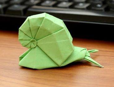 Animal - Origami Snail