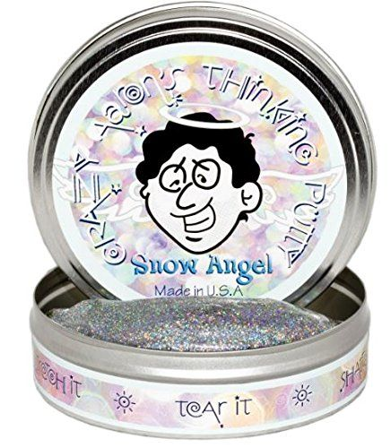 Crazy Aaron's Snow Angels Thinking Putty