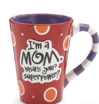 I m A Mom, What's Your SuperPower 12oz Coffee Mug #cool