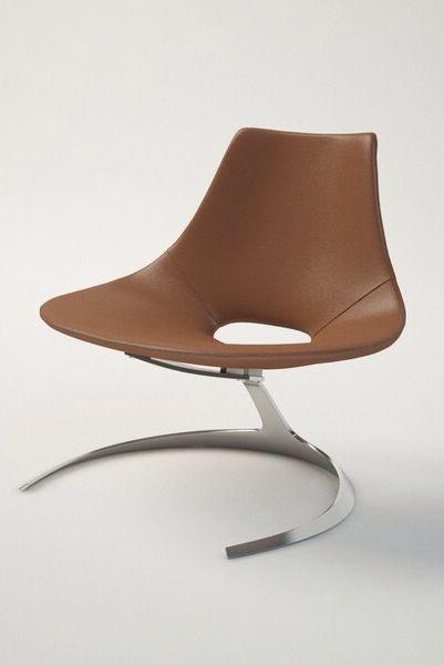 Scimitar Chair Jørgen Kastholm Preben Fabricius furniture office executive design