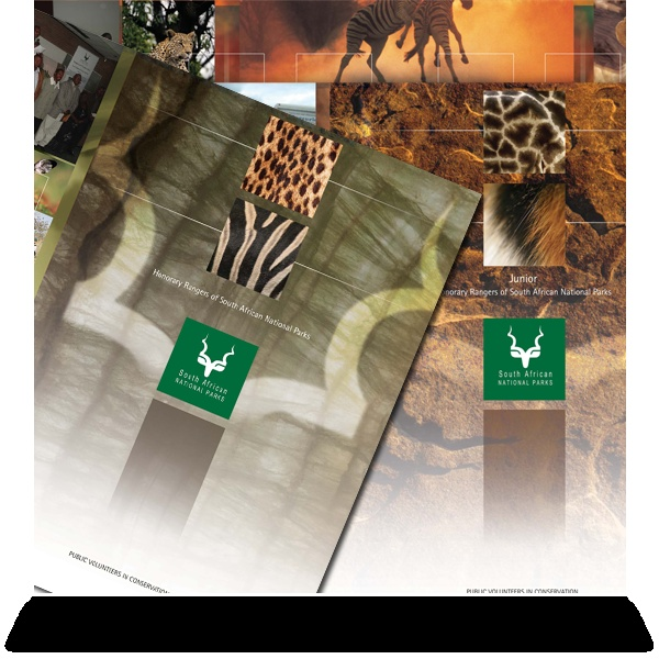 South African National Parks:   Honorary Ranger and Junior Honorary Rangers brochures.