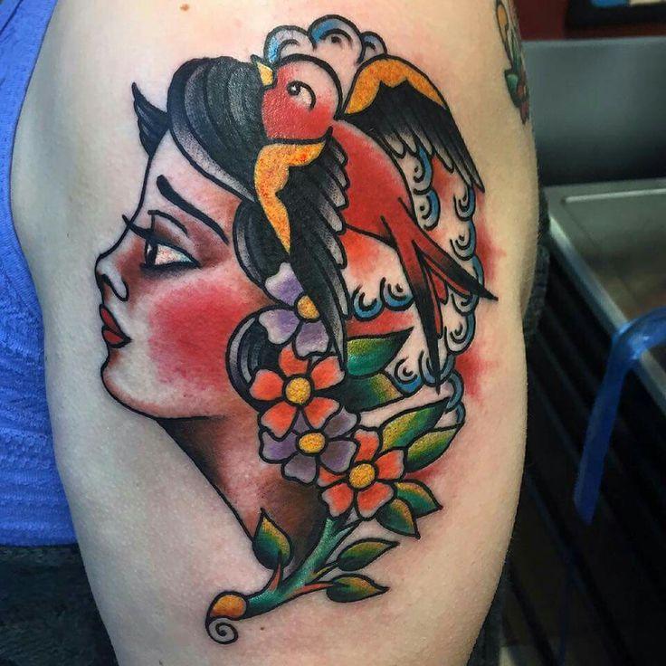 Gypsy tattoo old scool