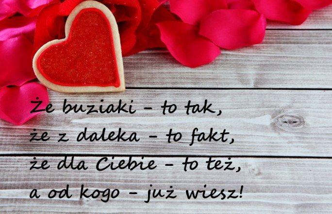 WIERSZYKI NA WALENTYNKI: - Życzenia Na Walentynki ŚMIESZNE I KRÓTKIE Dla Niego I
