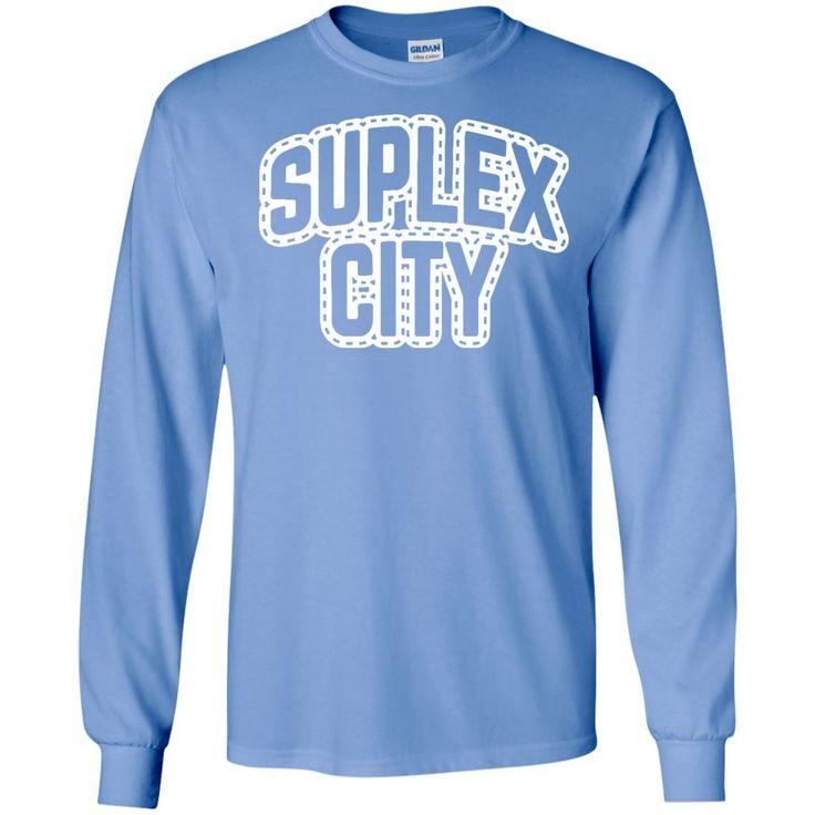 Brock Lesnar Suplex City Muscle T-Shirt-01 LS Ultra Cotton Tshirt
