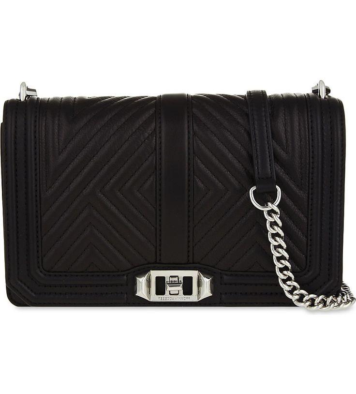 REBECCA MINKOFF - Love quilted leather cross-body bag   Selfridges.com