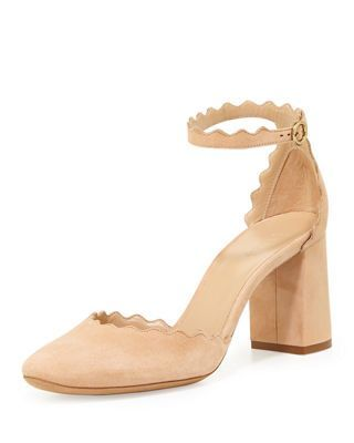 499069cba179 Chloe Lauren Scalloped D Orsay Pump