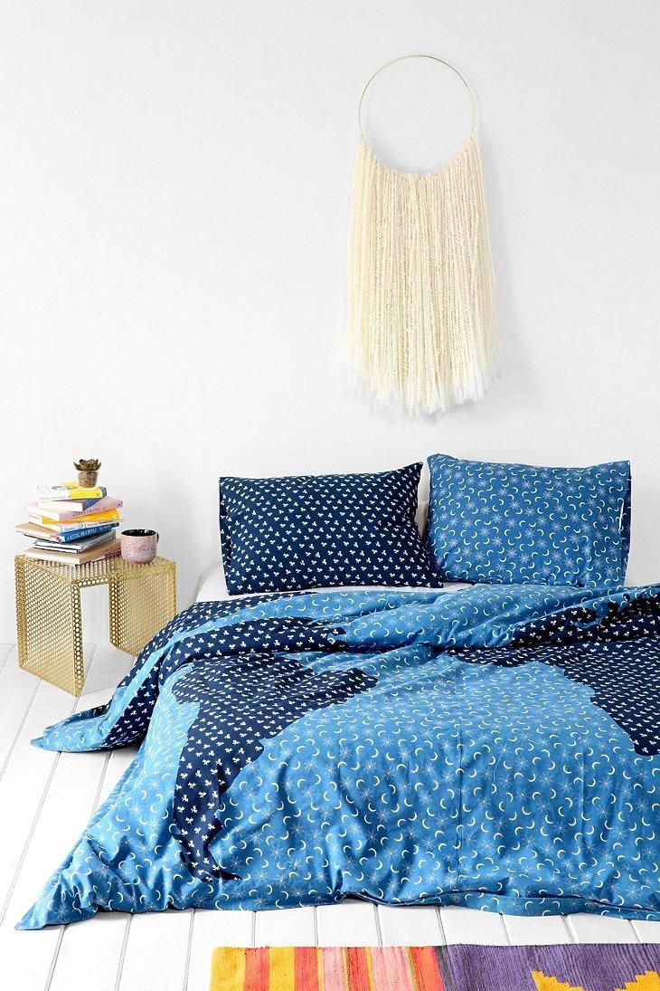 4040 Locust Ditsy Print Map Duvet Cover Urbanouters