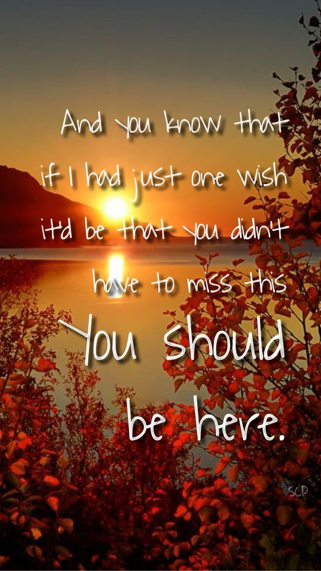You Should Be Here Cole Swindell Lyrics Country Music Quotes