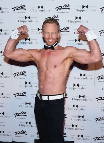 Actor Ian Ziering returns to the Chippendales
